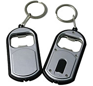 Bottle Opener Small Dual-use Flashlight Key Chain Hanging Buckle (Random Color)