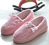 Pink Coral Fleece Women's Bootie Slipper