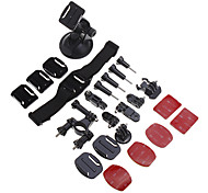 Gopro Accessories Accessory Kit For Gopro Hero 3Snowmobiling / Aviation / Film and Music / Motocycle / Ski/Snowboarding / Bike/Cycling /
