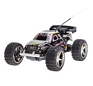 Wltoys Black Remote Control Racing Car with Road-block for iPhone, iPad and Android