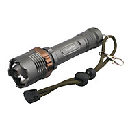 UniqueFire UF-V23 5-Mode Cree XP-E Q5 LED Zoom Flashlight (240LM, 1x18650, Gray)