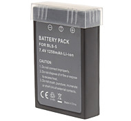 PS-BLS5 1250mAh Digital Camera Battery for Olympus E-PL2 E-PL1S EPl2