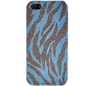 Shimmering Zebra Pattern PC Hard Case for iPhone 5/5S (Assorted Colors)