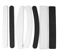 Набор из 7 Pro 2 Way шлифовальная пилочка для ногтей Полировка