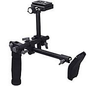 DSLR-Video-Camcorder Griff Schulterstütze Stabilisator Rig Schnellwechselplatte