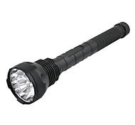 UniqueFire 5-Mode 15xCree XM-L T6 LED Flashlight (13800LM, 4x18650, Black)