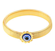 Lureme®Fashion Snake Belt Evil Eye Bracelet