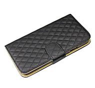 pu lederen flip case met kaartslot & houder voor Samsung Galaxy i9158 mega5.8 (verschillende kleuren)