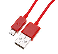 Colorful Micro USB Round Cord Data Charger Cable for Samsung Cell Phones