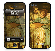 """Da Code ™ Skin for iPhone 4/4S: """"Music Lesson"""" by Sir Frederic Leighton (Masterpieces Series)"""