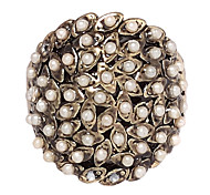 Alloy Pearl Ring(Assorted Size)
