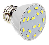 5W E26/E27 LED Spotlight 15 SMD 5730 420-450 lm Cool White AC 220-240 V