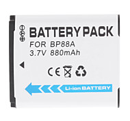 Rechargeable BP88A Battery for Samsung DV200 DV300 DV300F Digital Camera
