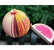 Pomegranate Shaped Sticky Notes