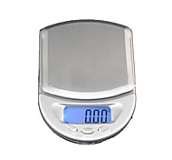 500g x 0.1g Jewelry LCD digital de bolsillo