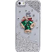 Casi di Natale piccola campana gioiello rivestiti per iPhone 5C