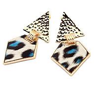 European Style Leopard Alloy Drop Earrings(Assorted Color)