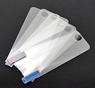 Film de protection écran lcd avant pour iphone 5 - 5pcs