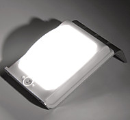16-LED Voice Sensor Outdoor Solar Powered Light Lamp Landscape Garden Wall Fence