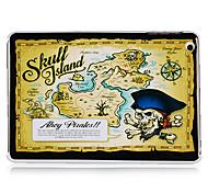 carte au trésor modèle en plastique cas pour l'ipad mini-3, Mini iPad 2, ipad mini-