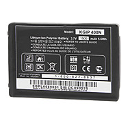 3.7V 1500mAh KGIP-400N Replacement Battery for LG GD888/GM750/GT540/GW620/GW820/GW825v + More