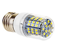 E26/E27 3 W 60 SMD 3528 360 LM Cool White T Corn Bulbs AC 220-240 V