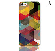 MR.BEAM Series Design Hard Case with 3-Pack Screen Protectors for iPhone 5/5S