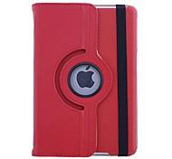 cuero franja caso giratorio negro para ipad Mini 3, Mini iPad 2, iPad mini (colores surtidos)