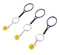Tennis Racket Style Keychain (Random Color)