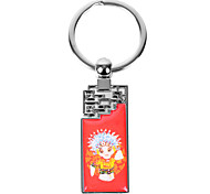 Personalized Engraved Gift Creative Chinese Opera Pattern Keychain