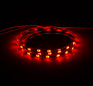 0.9M 10W 54x5630SMD 700LM Red Light Light Strip LED (DC 12V)