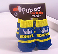 Socks & Boots for Dogs / Cats Blue Winter S / M / L Cotton