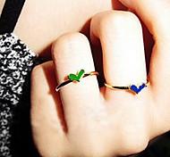 2013 New Cute Love Gold Ring Glaze