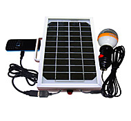 5W 36-LED White Light LED Solar Light Mobile Phone Charger Lighting System