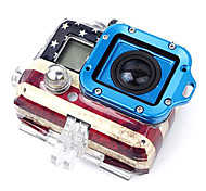 Full GoPro Aluminum Lanyard Ring Mount Ver. 2 (Blue)