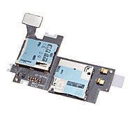 Sims Tray Card Reader Connector Holder Socket for Samsung Galaxy Note 2 II N7100