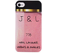 rosa Nagellack ABS zurück Fall für iphone 4/4s