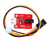 Tilt Sensor Module Inclination Sensor Board for SCM Development Red