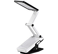 White Light 22-LED ricaricabile LED solare Fold Eyeshield Reading Table Desk Lamp (110-220V)