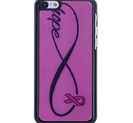 Pink Infinity Pattern Back Case for iPhone 5C