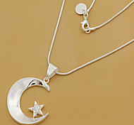 Silver Moon Jewelry Set
