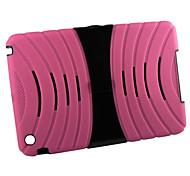 silicio y plástico con el caso robot soporte para el iPad Mini 3, Mini iPad 2, iPad mini