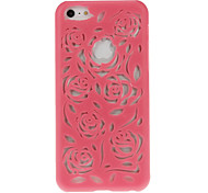 Hollow Out Style Flower Design Hard Case for iPhone 5C (Assorted Colors)