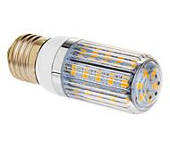 6W E26/E27 Bombillas LED de Mazorca T 36 SMD 5730 350 lm Blanco Cálido AC 100-240 V