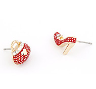 High-Heels Shoe Bag Stud Earrings
