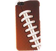 Rugby Patrón de superficie lisa duro caso para iPhone 5C