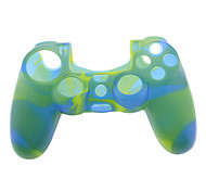 Silicone Skin Case for PS4 Controller (Yellow & Blue)