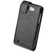 Elegant PU Leather Full Body Flip Case Cover for Samsung Galaxy I8150-Black