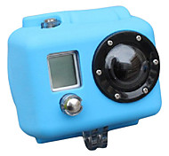 Silicone Case for Gopro HD Hero2 (Baby blue)