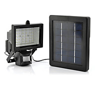 White Light LED Solar Light Light Flood Light with Motion Detection